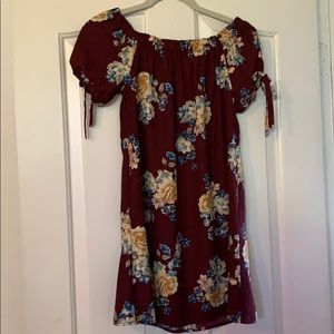 Target off the shoulder dress